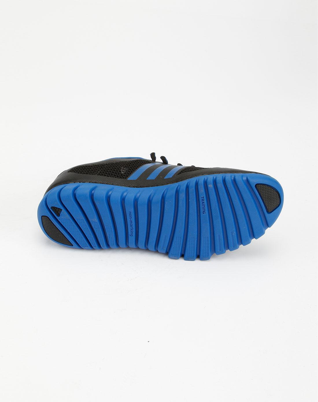 阿迪达斯adidas-sp 男款黑/蓝色运动鞋2g17288