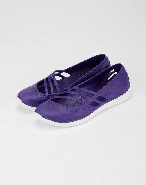 阿迪达斯adidas-neo 女款紫色凉鞋