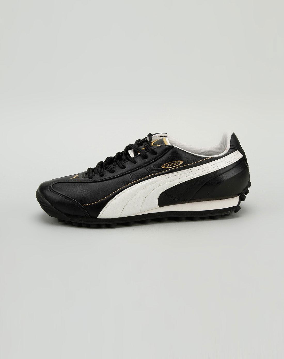 彪马puma彪马 男款黑/白色足球鞋1pu10174501