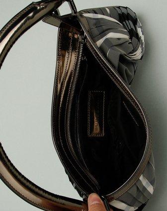 burberry包包专场女款经典黑/灰/白色格纹时尚手提包