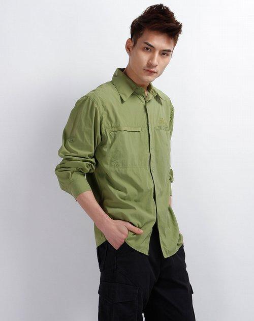 墨绿色衬衫-深绿色衬衫-草绿色衬衫