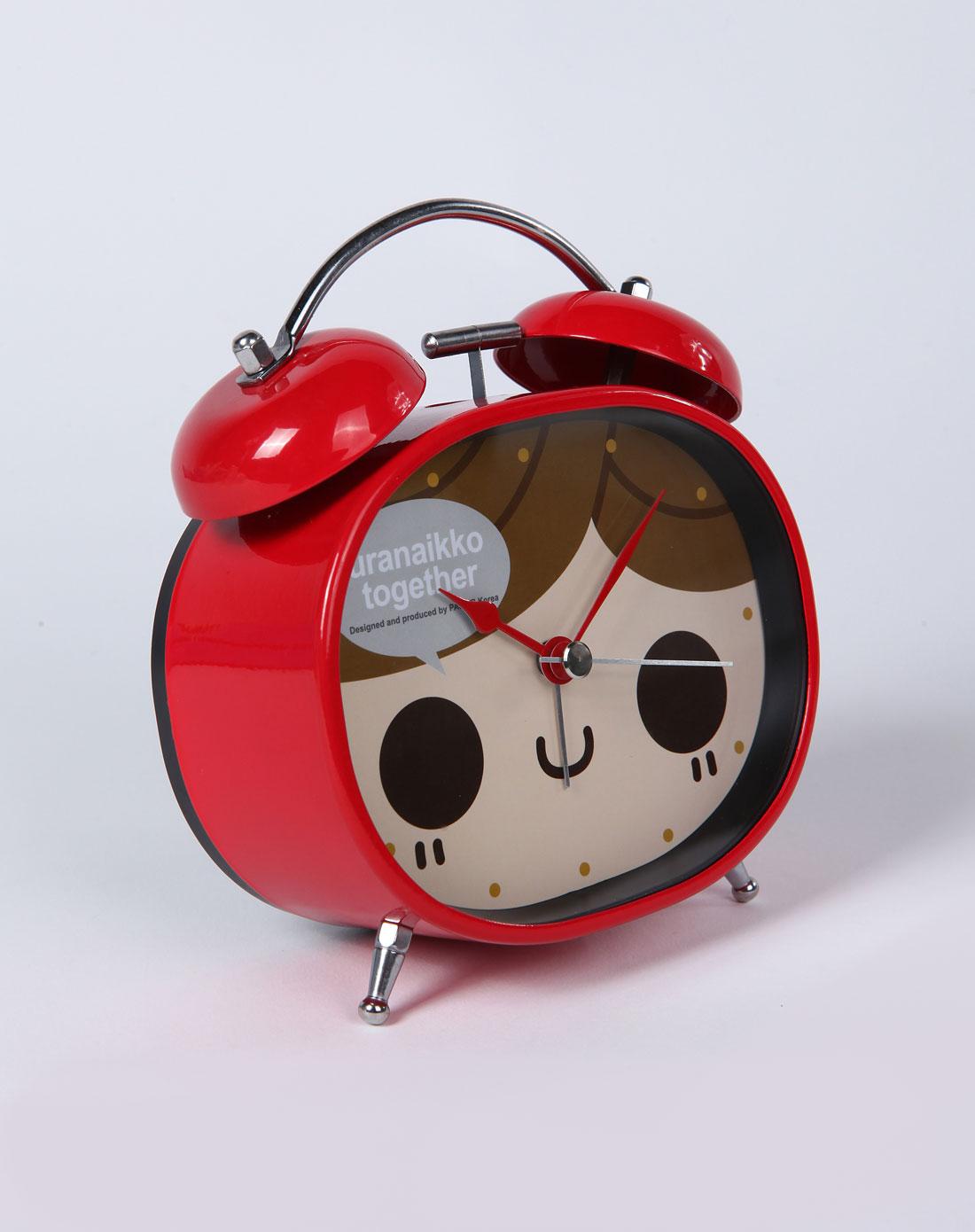 h&3红色女孩叮叮当可爱闹钟