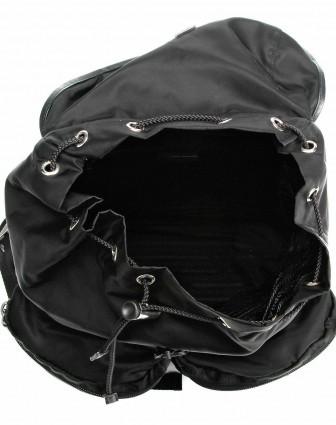 prada女款黑色时尚双肩包v164064nero