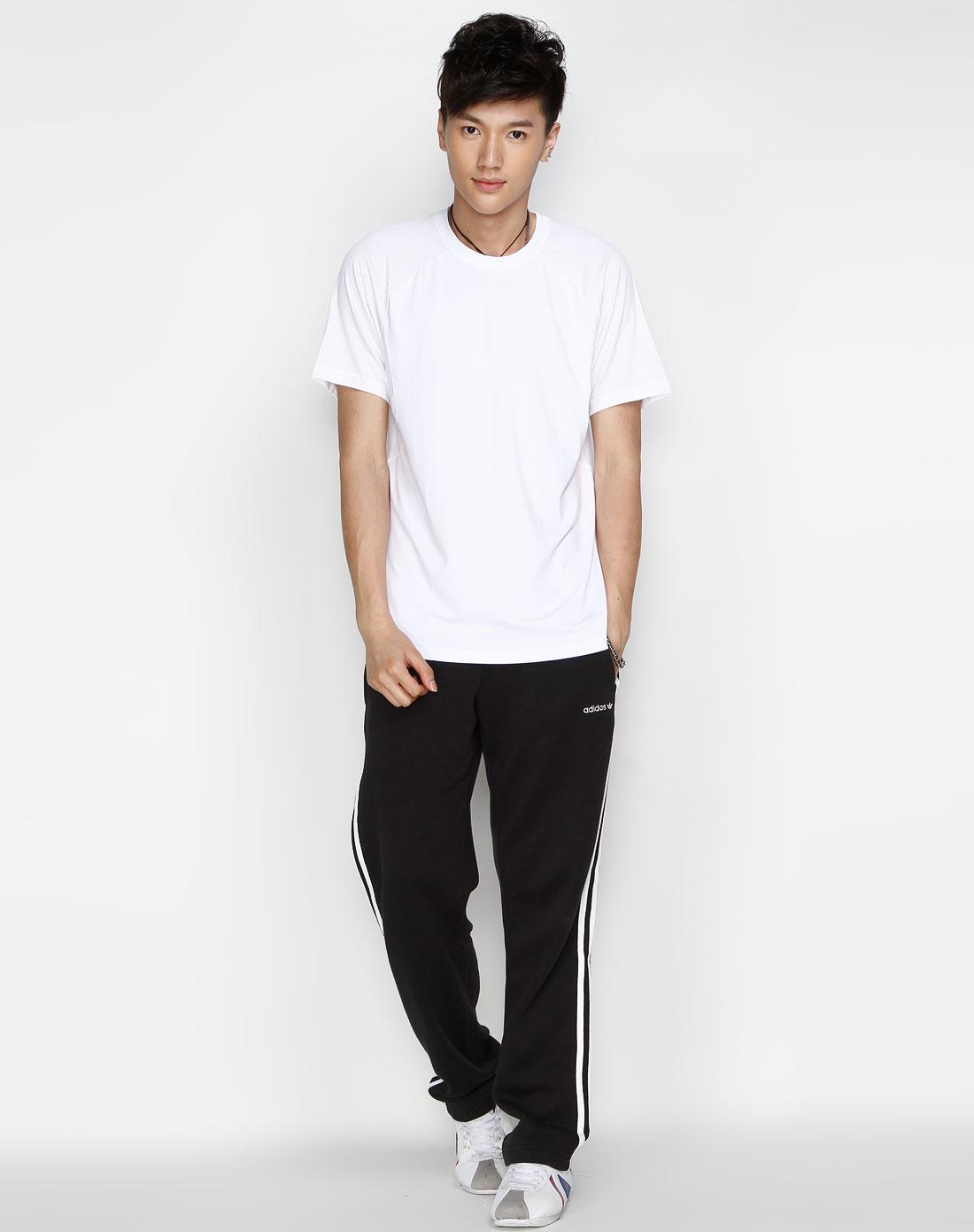 sp 男款 白色休闲短袖t恤