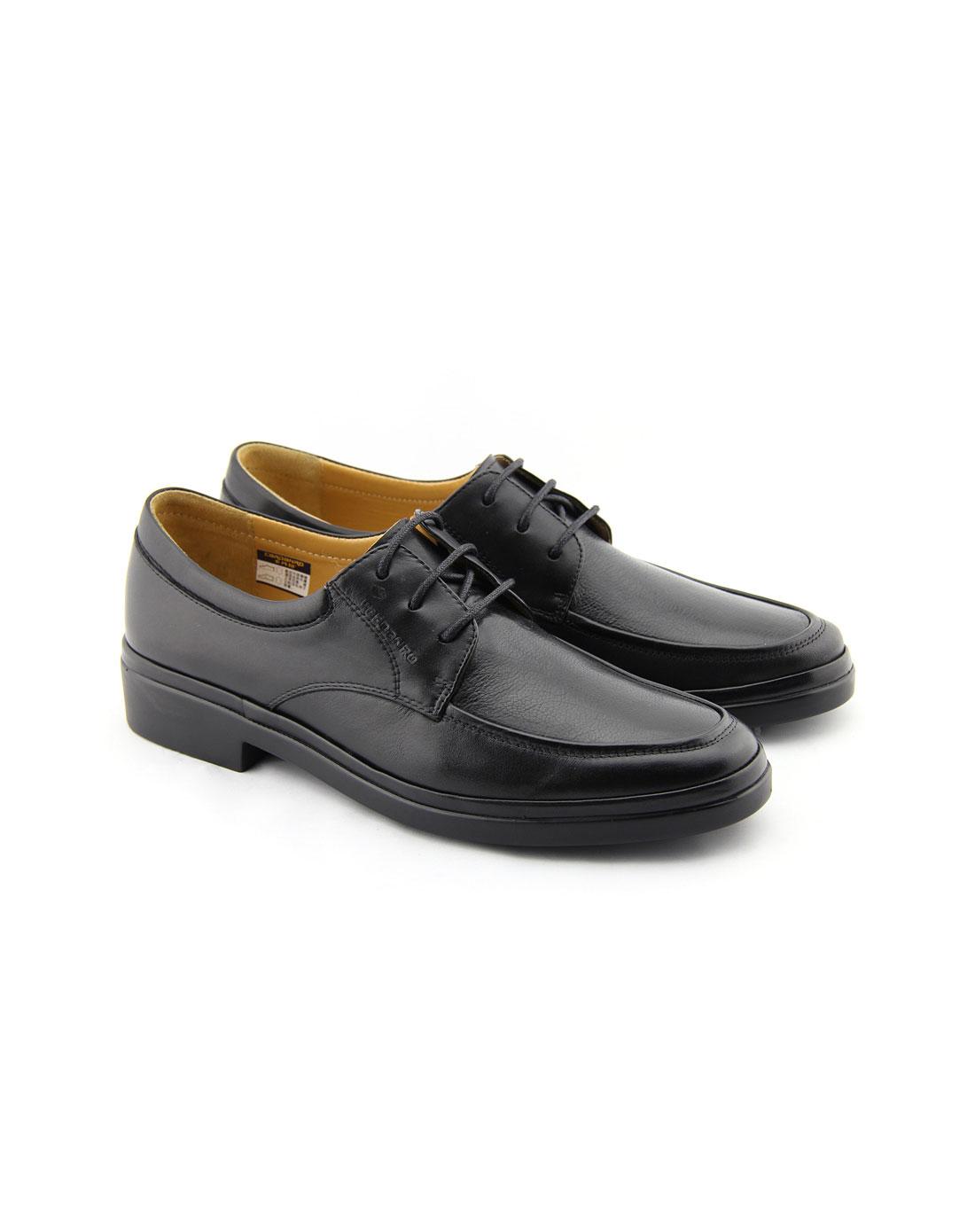 款黑色皮鞋j344051
