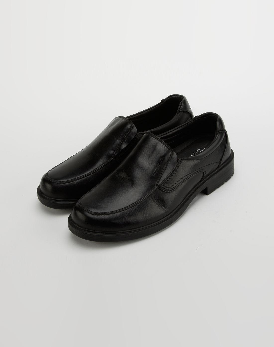 卡丹路cardanro男款黑色牛皮鞋