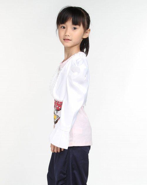 女童环保服装制作