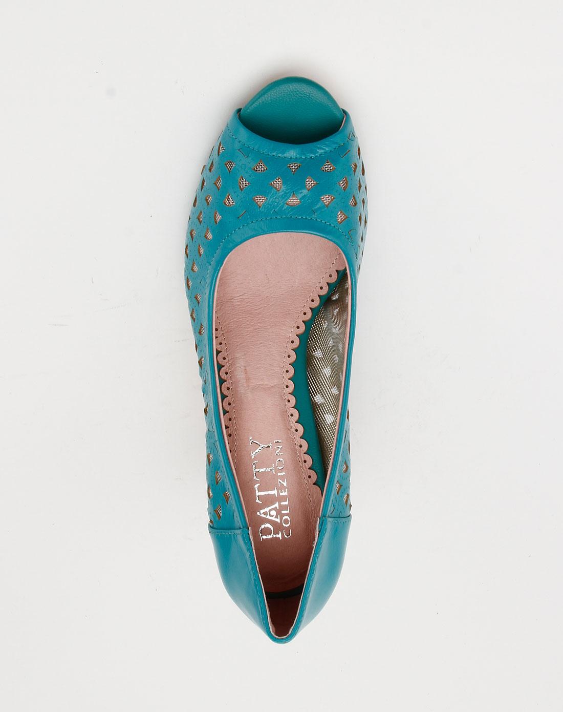 色时尚镂空高跟鞋