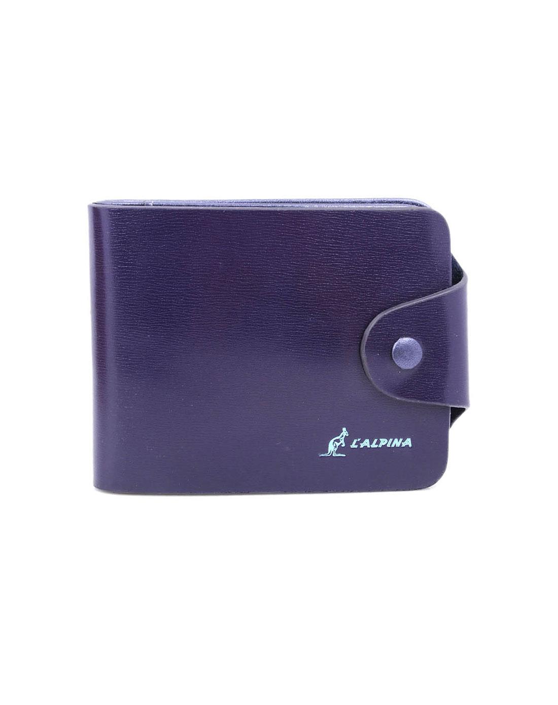阿尔皮纳袋鼠女包紫色时尚钱包