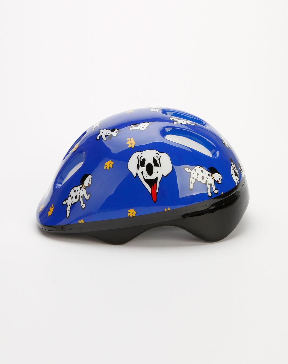 舒华运动器材专场蓝色儿童轮滑头盔