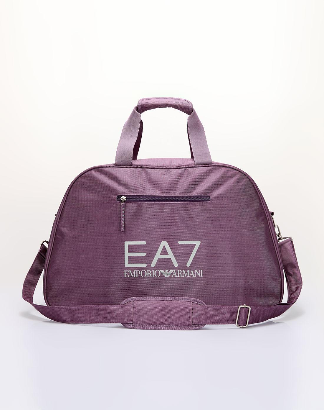 阿玛尼armani包包专场中性紫红色实用旅行包