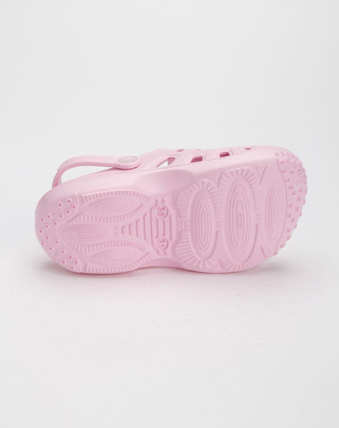 童鞋女童粉色时尚凉鞋e11d