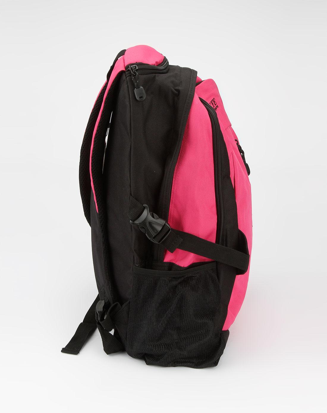 场中性粉色双肩背包