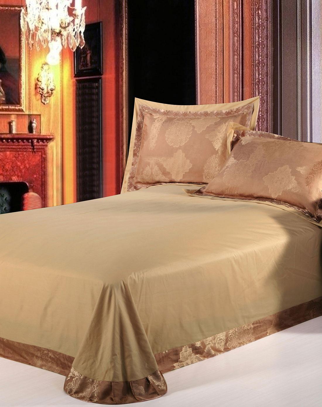 欧式传奇纺丝绵大提花印花四件套1.5m