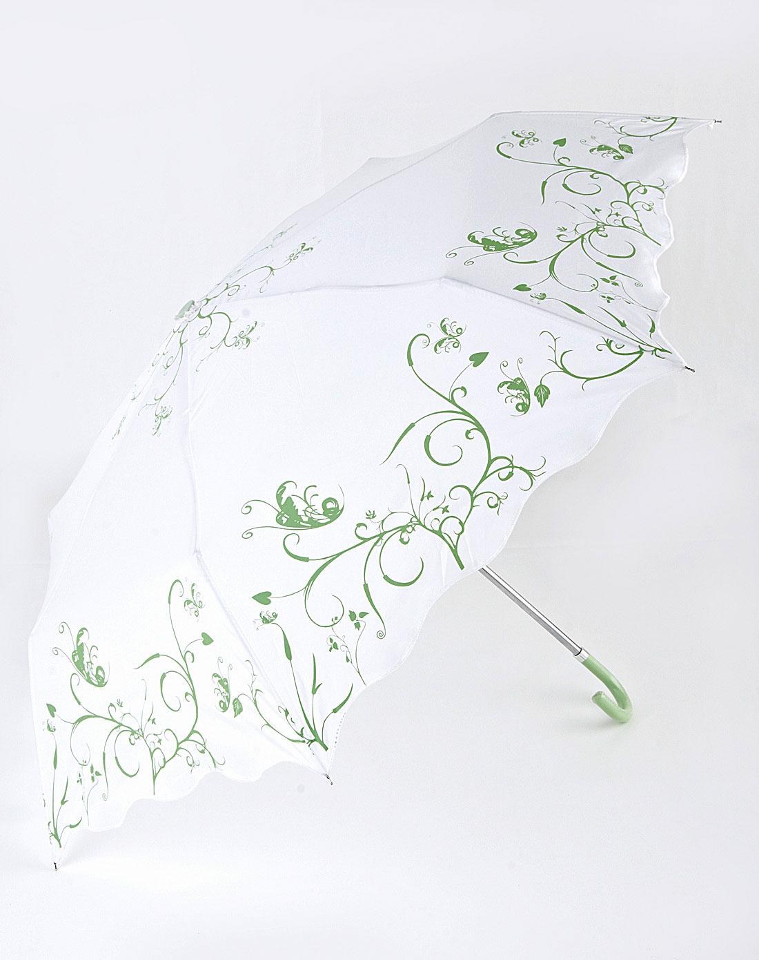 angella bird伞专场超轻弯勾花纹三折伞