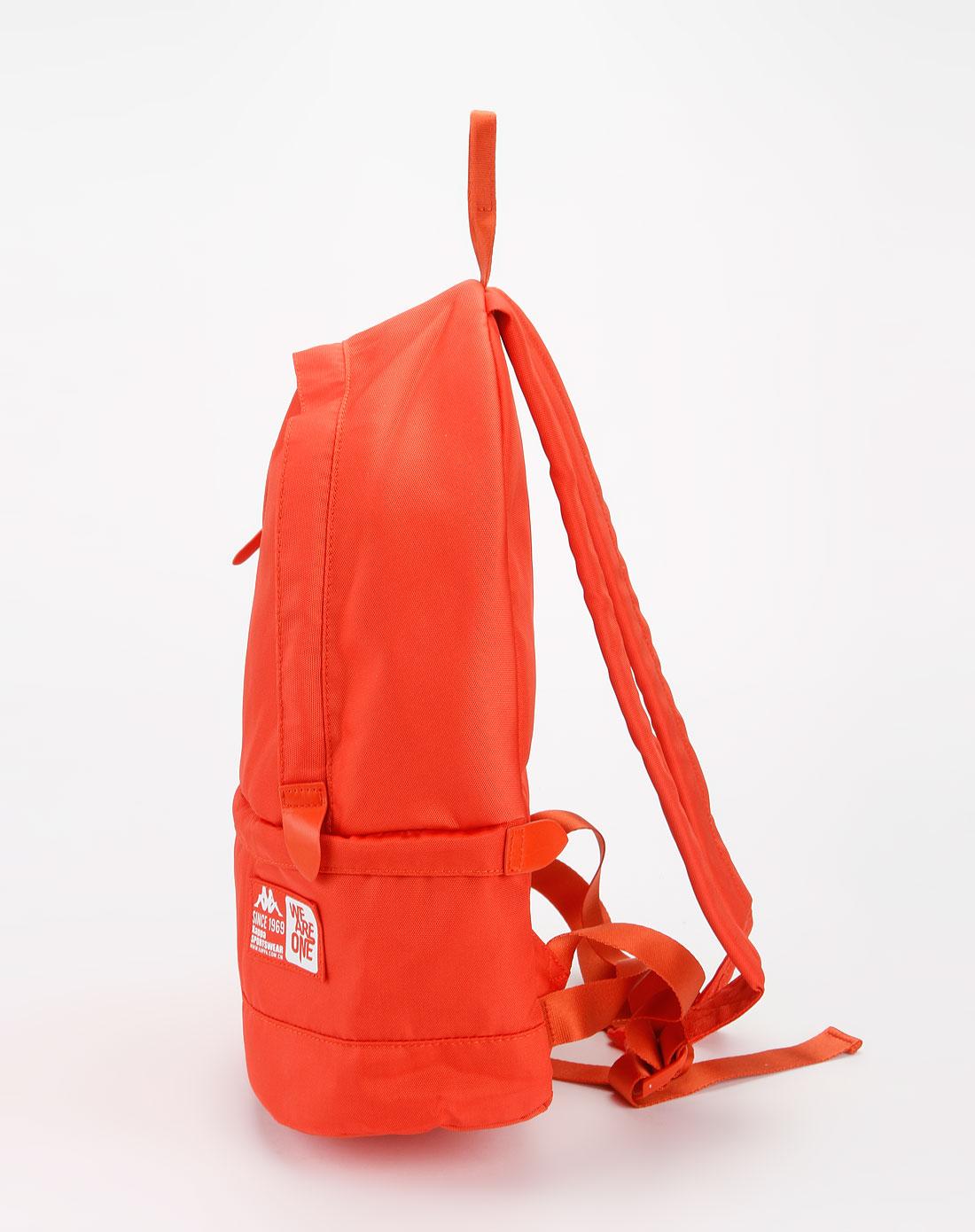 卡帕kappa女装专场-橙色时尚简约双肩包