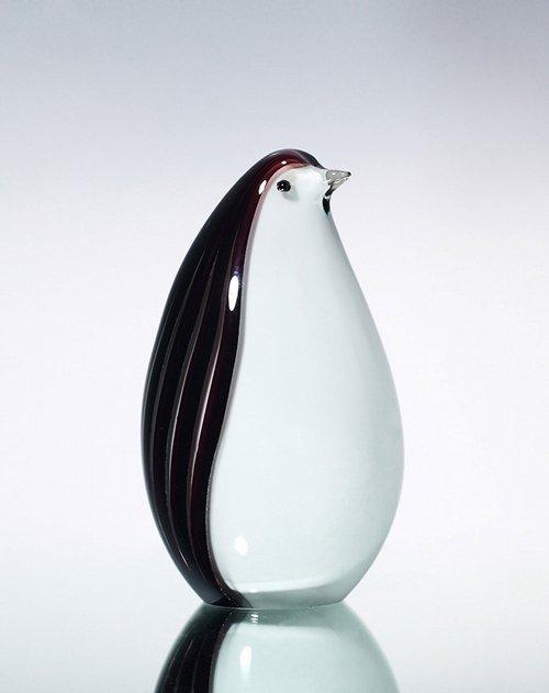 百花园ballerina欧式琉璃企鹅摆件3个装