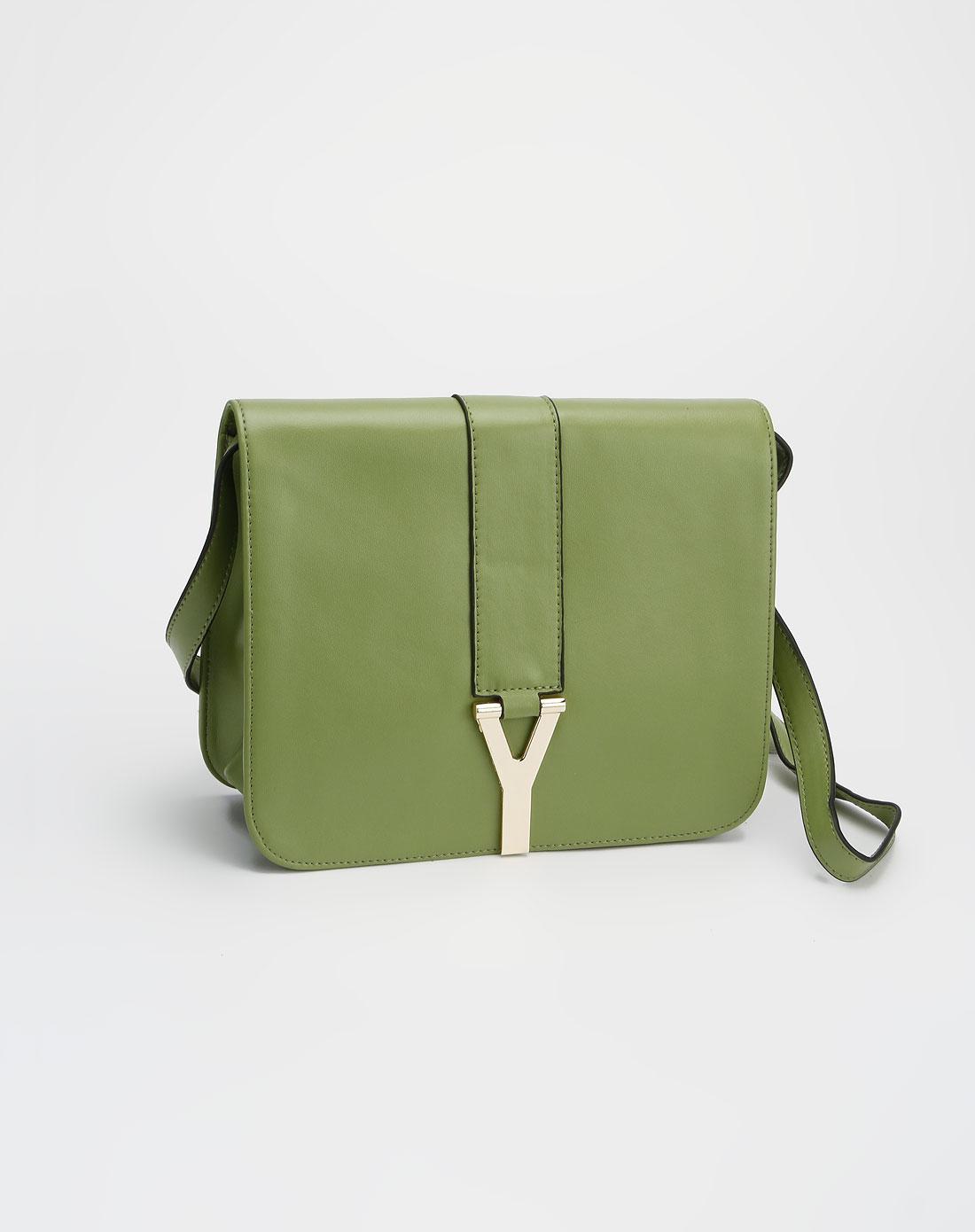 spade绿色手提斜挎包