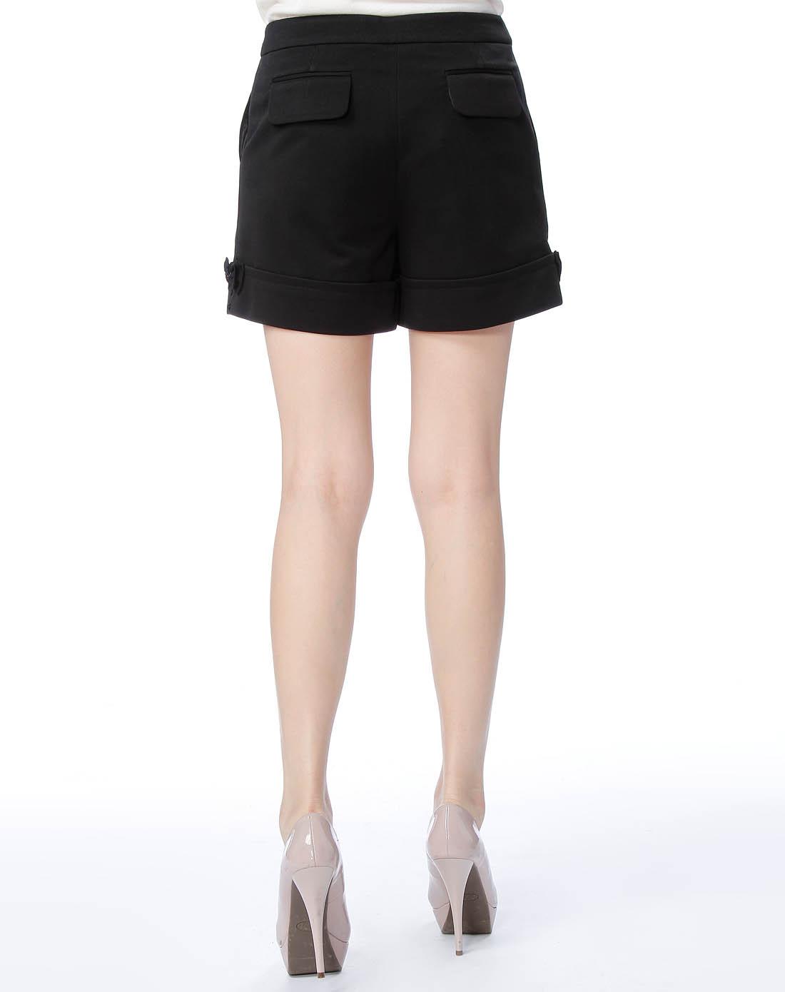 黑色短裤_男装
