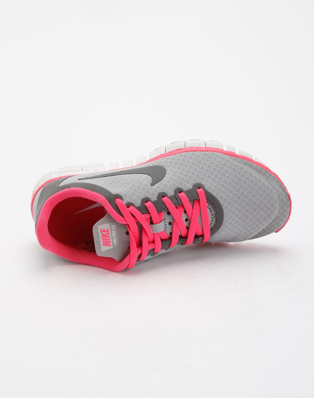 耐克nike女装专场-灰色时尚运动鞋