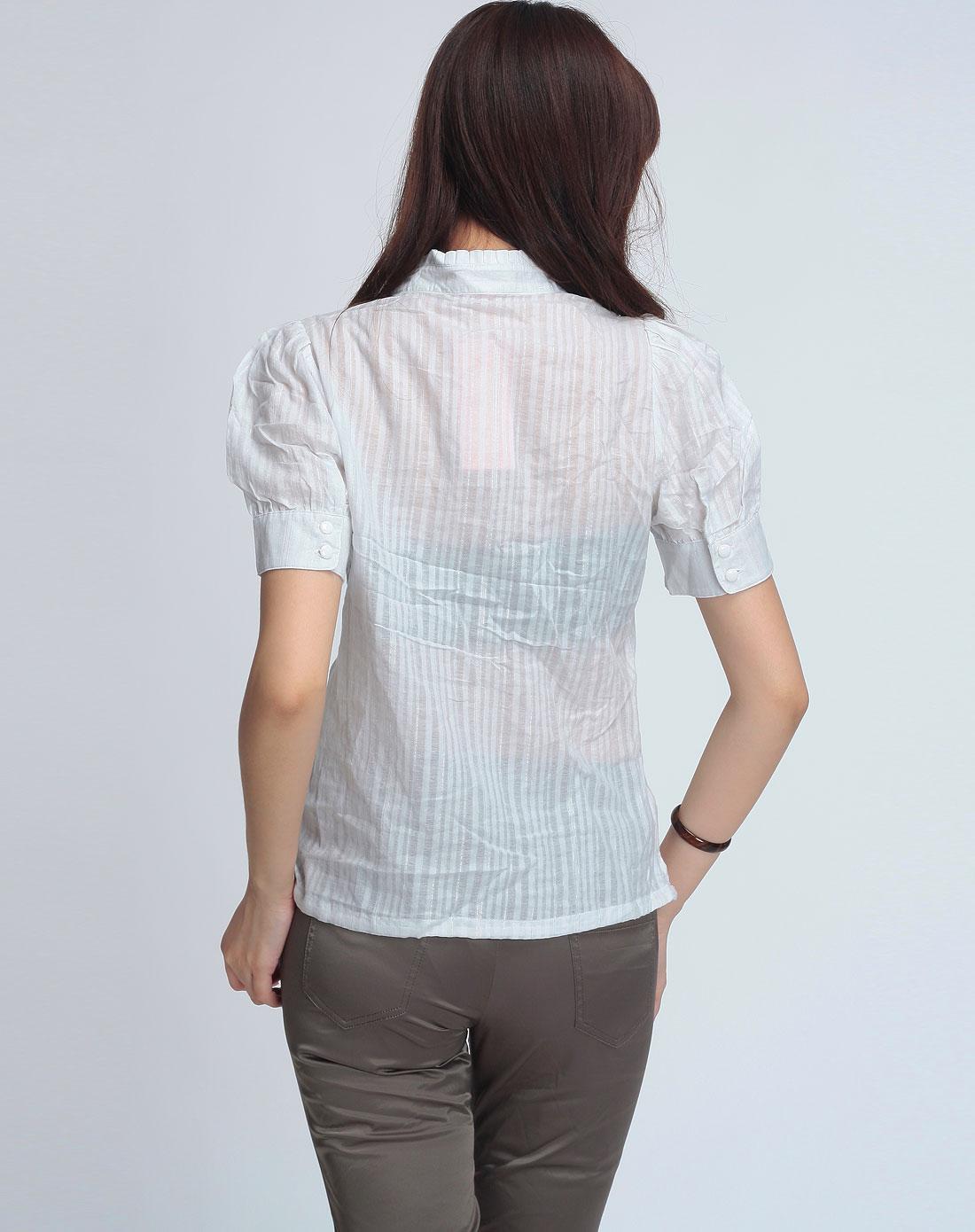 白短袖衬衫短袖衬衫矢量图短袖衬衫简笔画