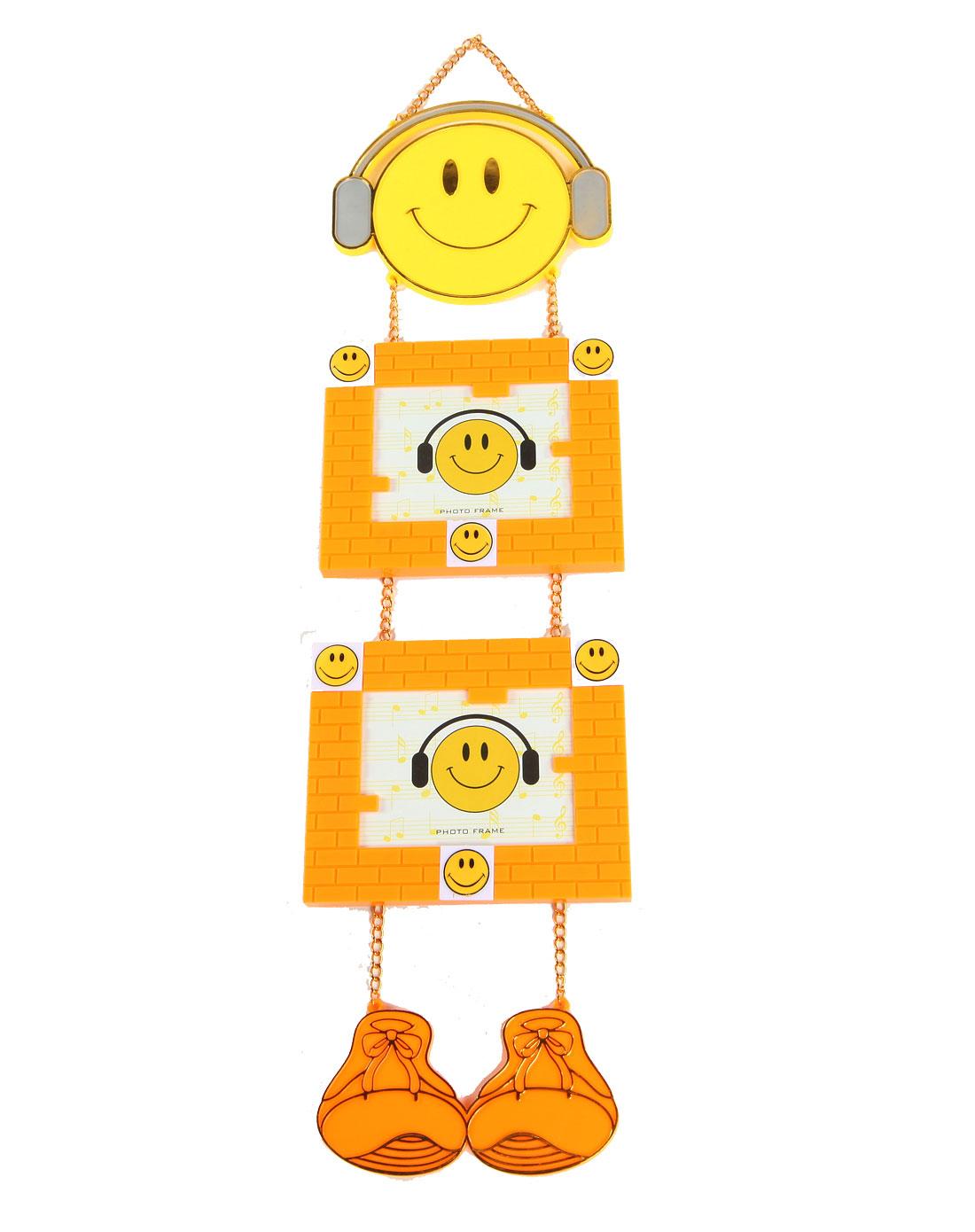 h&3家居用品专场橙色音乐达人卡通悬挂相框