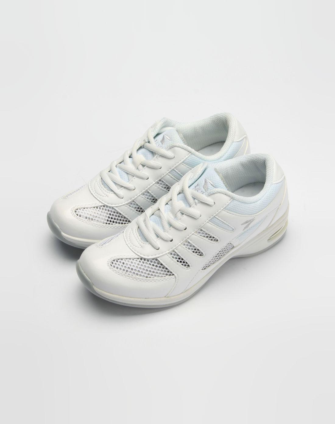 女款白色户外运动鞋