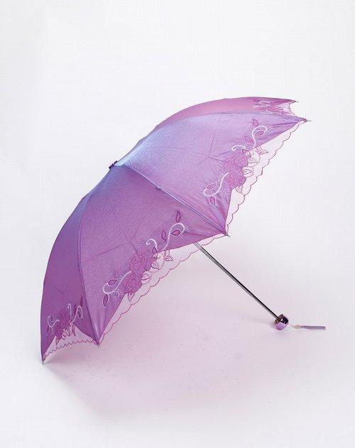 简单的手绘花伞图片