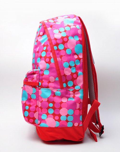 阿迪达斯adidas男女装女款粉红色时尚休闲双肩背包