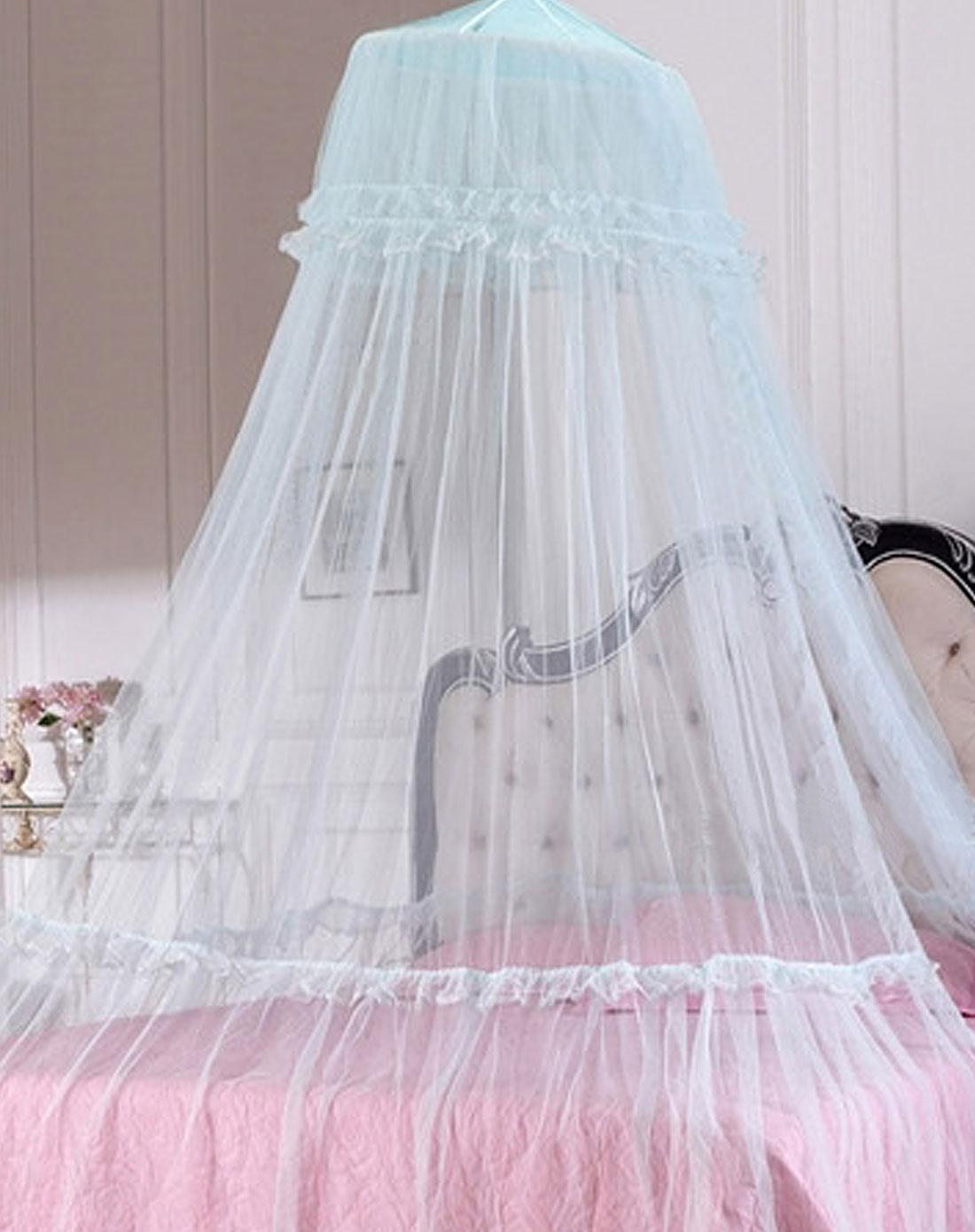 蚊帐做裙子的步骤