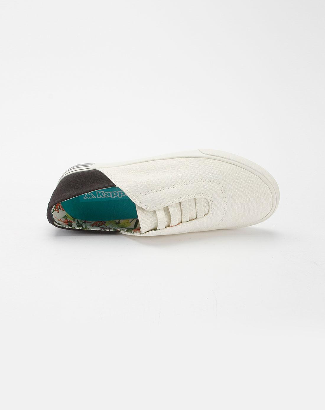 卡帕kappa女款白色时尚休闲鞋k0145vs10-001