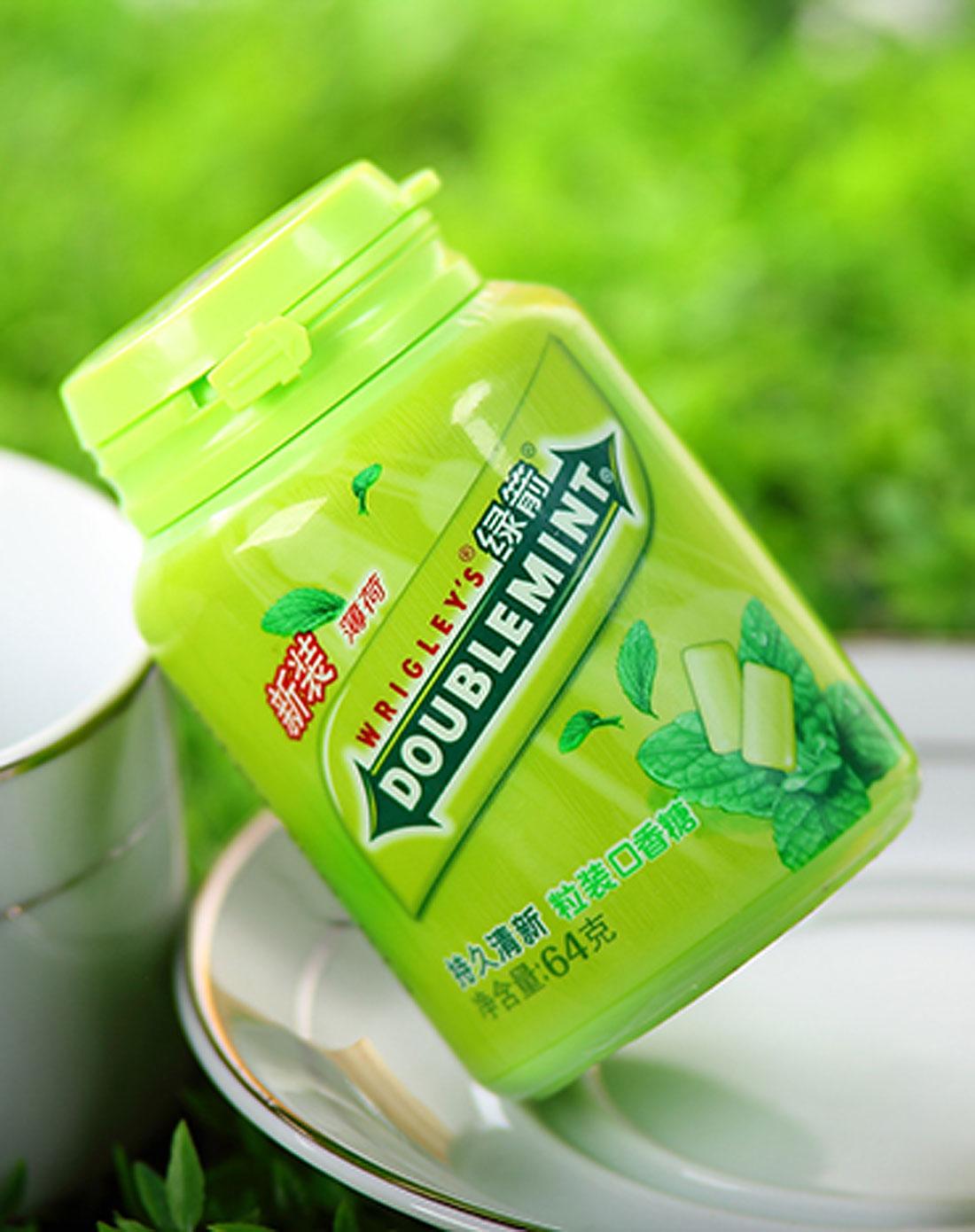 零食天地绿箭 口香糖(新薄荷味)