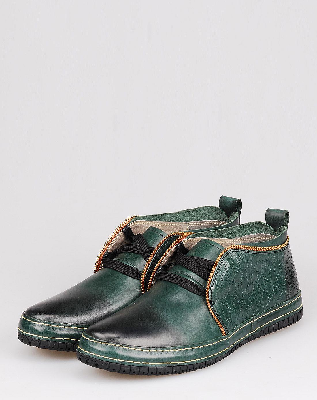 佐丹奴giordano男款绿色休闲鞋