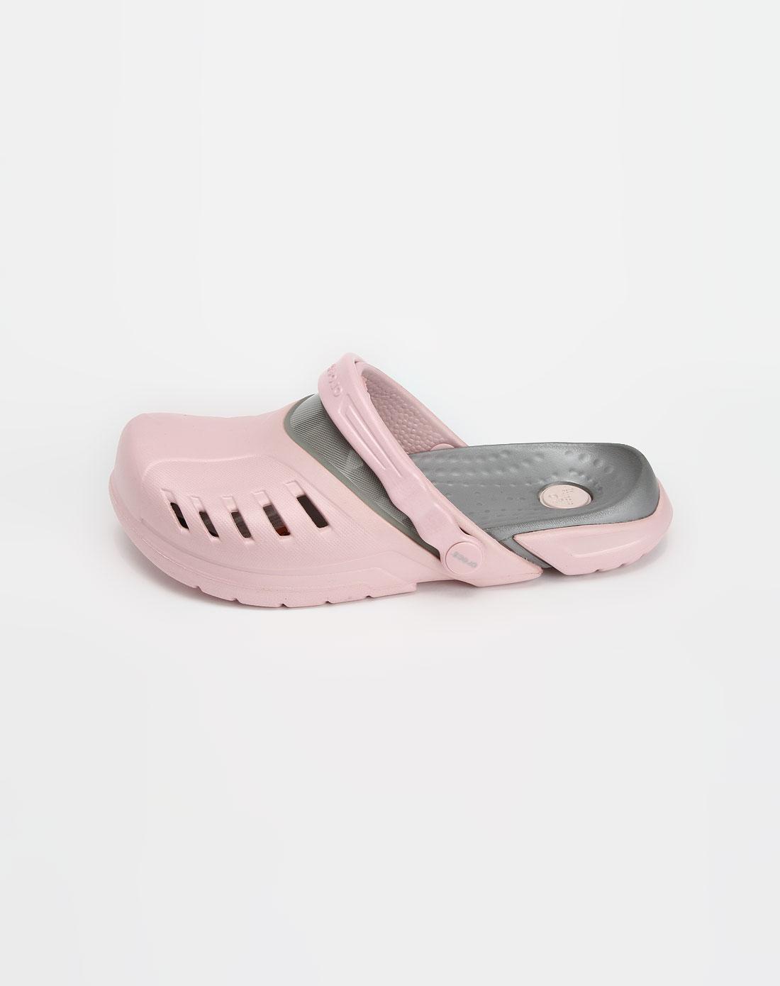 卡骆驰crocs男女粉色时尚休闲凉鞋10384-66f