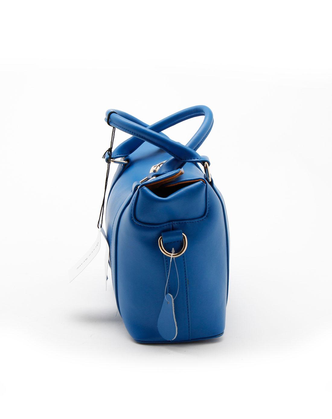 spade时尚蓝色手提包q8789