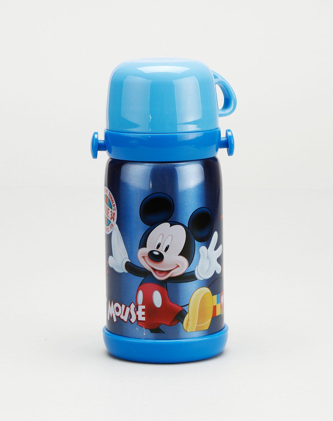 迪士尼disney儿童用品专场中性蓝色米奇保温保冷水壶