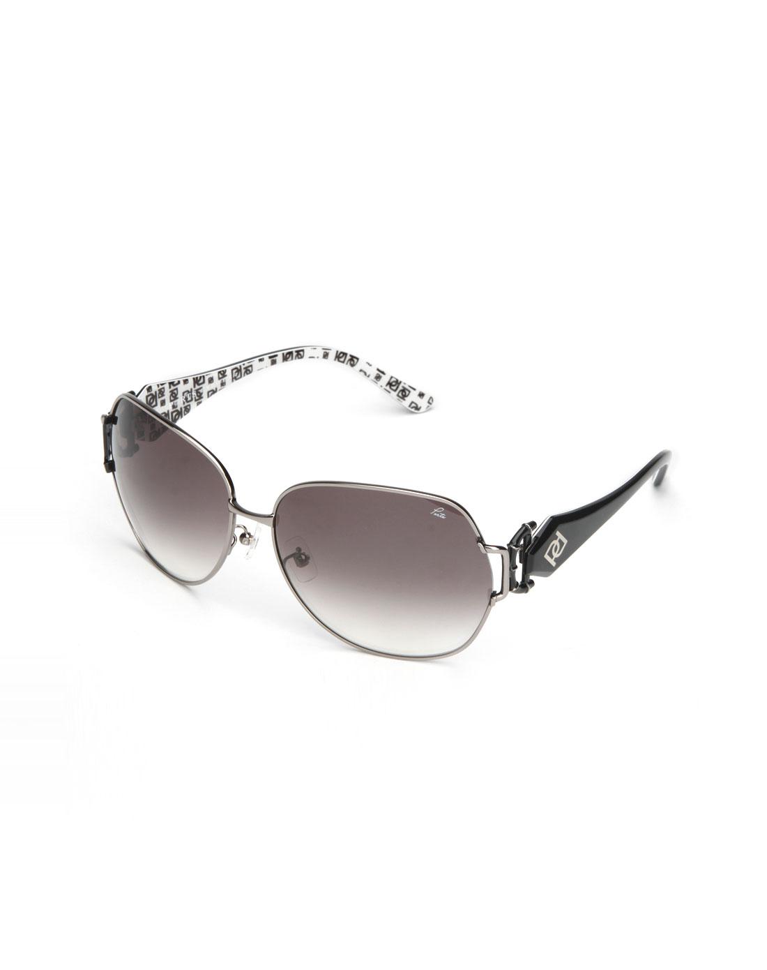 ports宝姿 银色细框太阳眼镜