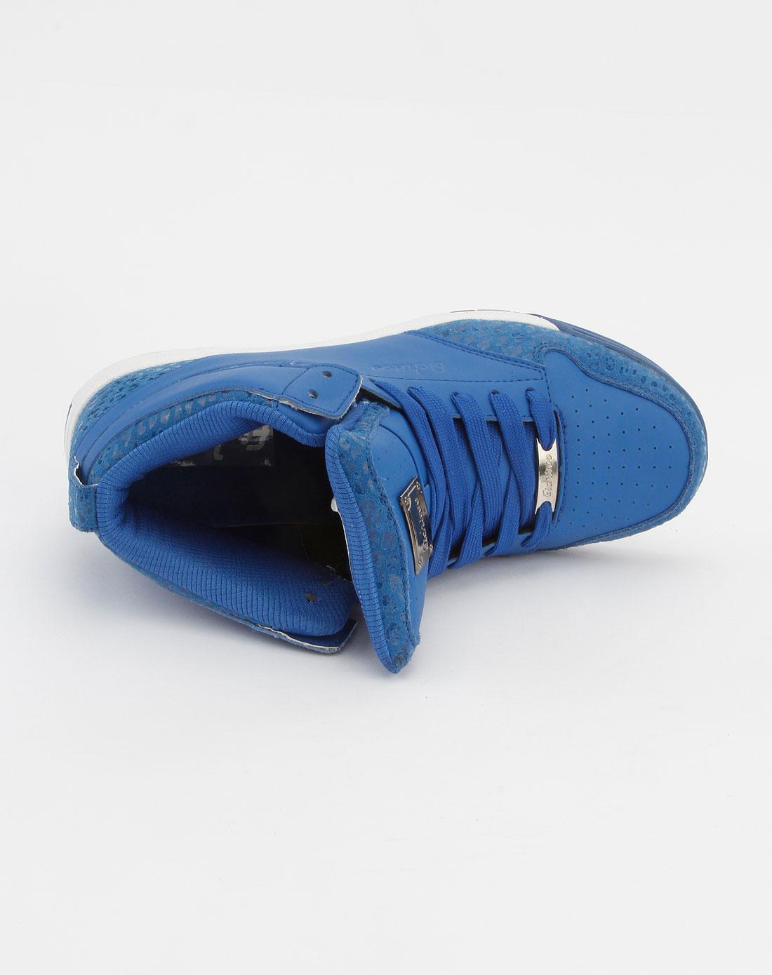 爱居兔eichitoo蓝色系带运动鞋axzj3b004010