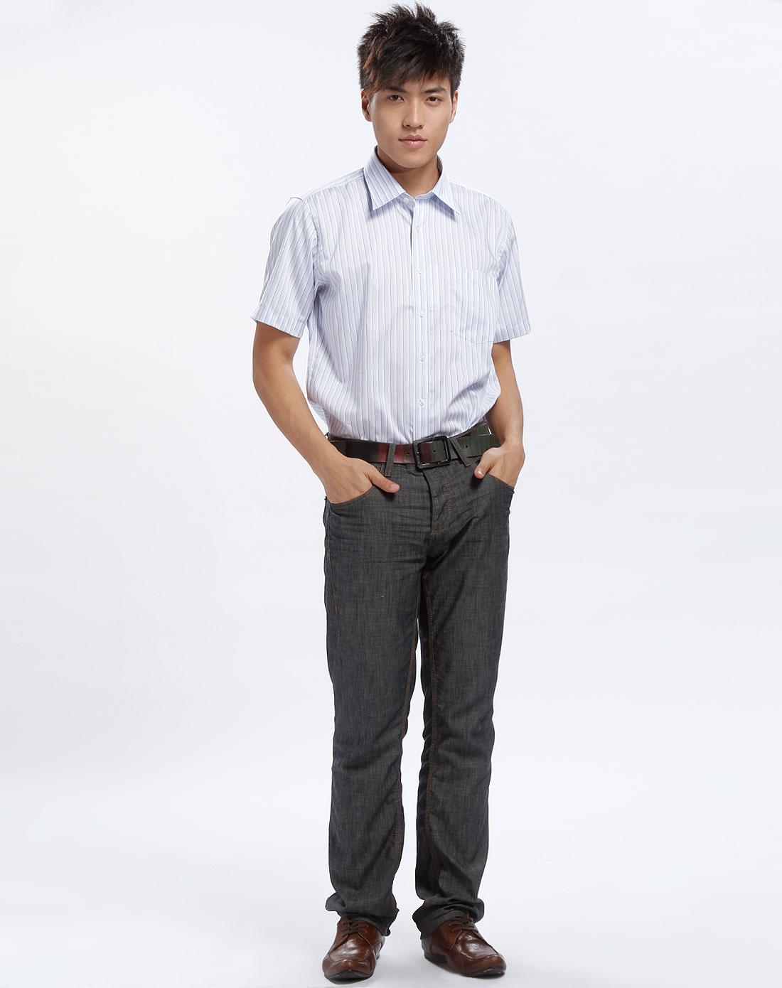 衬衫 西装裤
