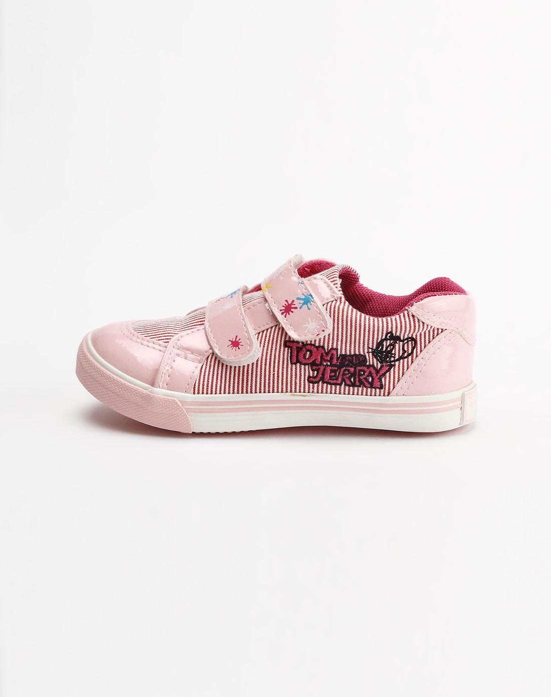女童粉色布鞋