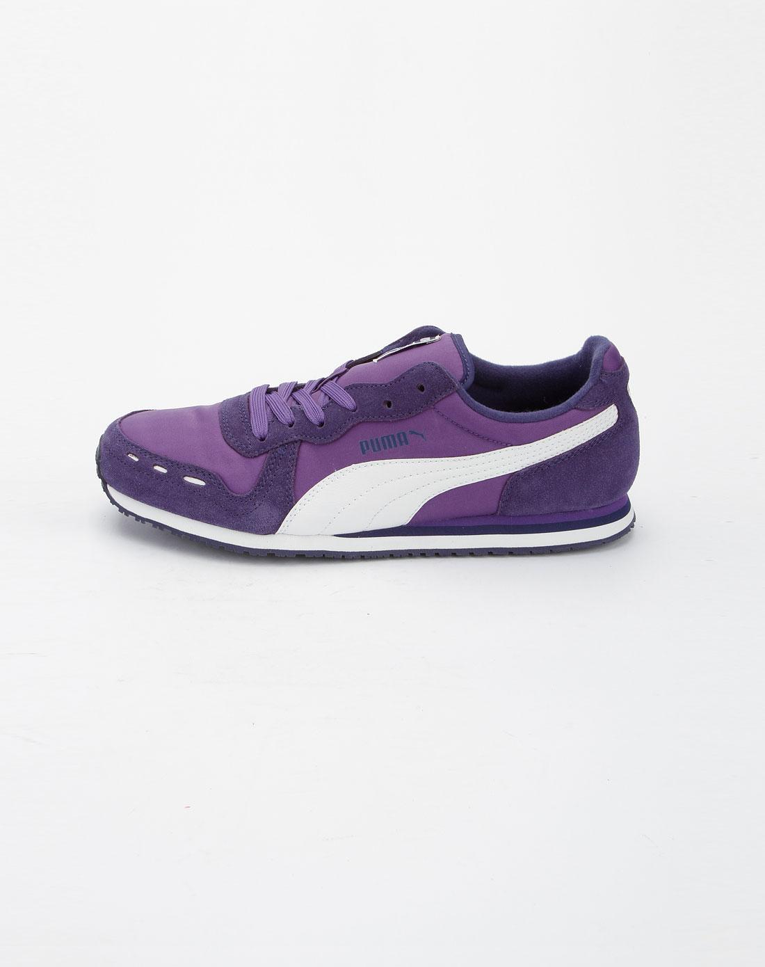 彪马puma紫色休闲透气运动鞋35254002