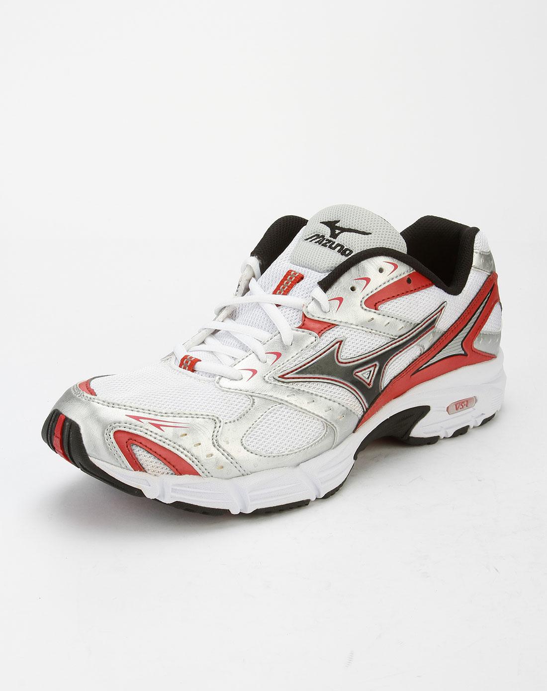 美津浓mizuno男女男款白/黑色时尚跑步鞋y08ka96009