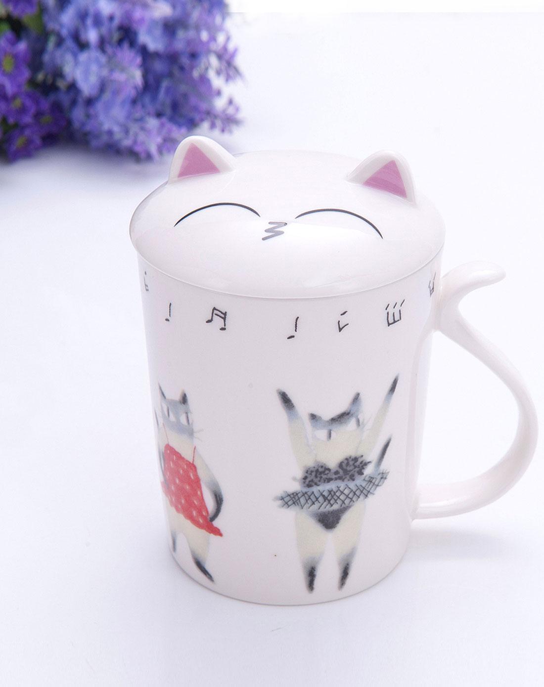 乐巢lovhome家居用品专场猫儿跳舞杯e2060432014113