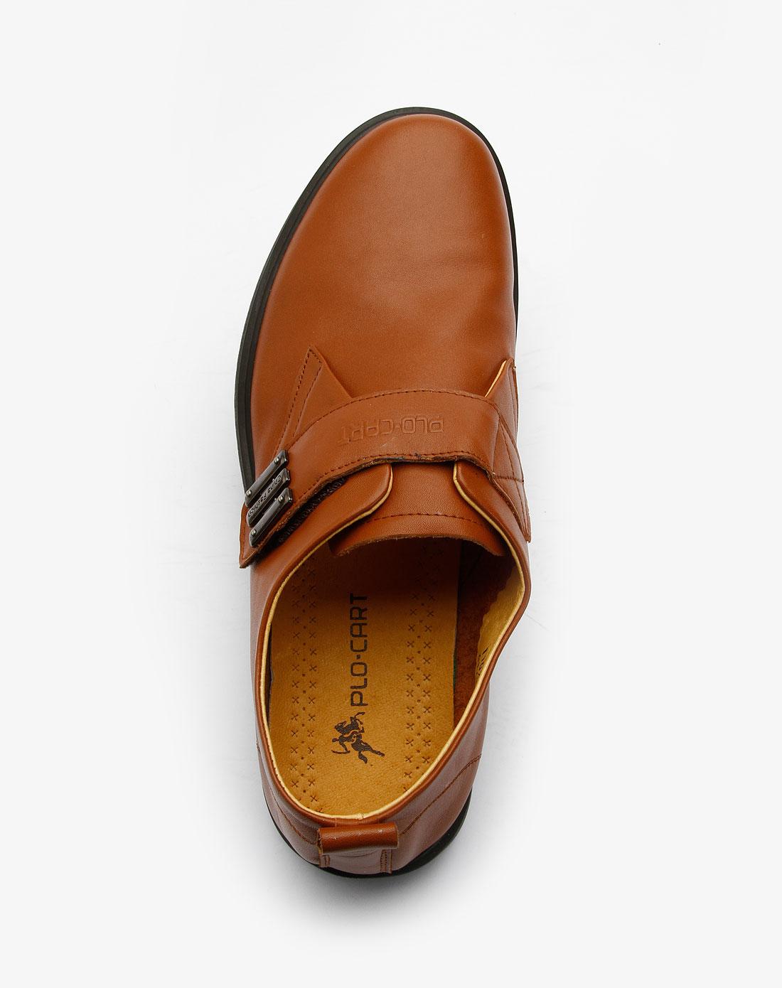 黑裤子棕色皮鞋_家具