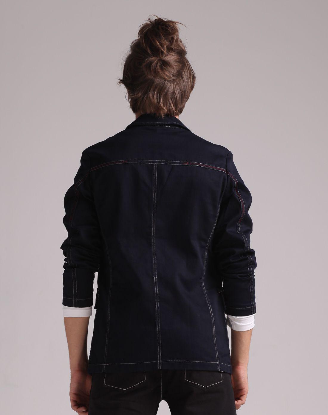 时尚长袖休闲西服外套