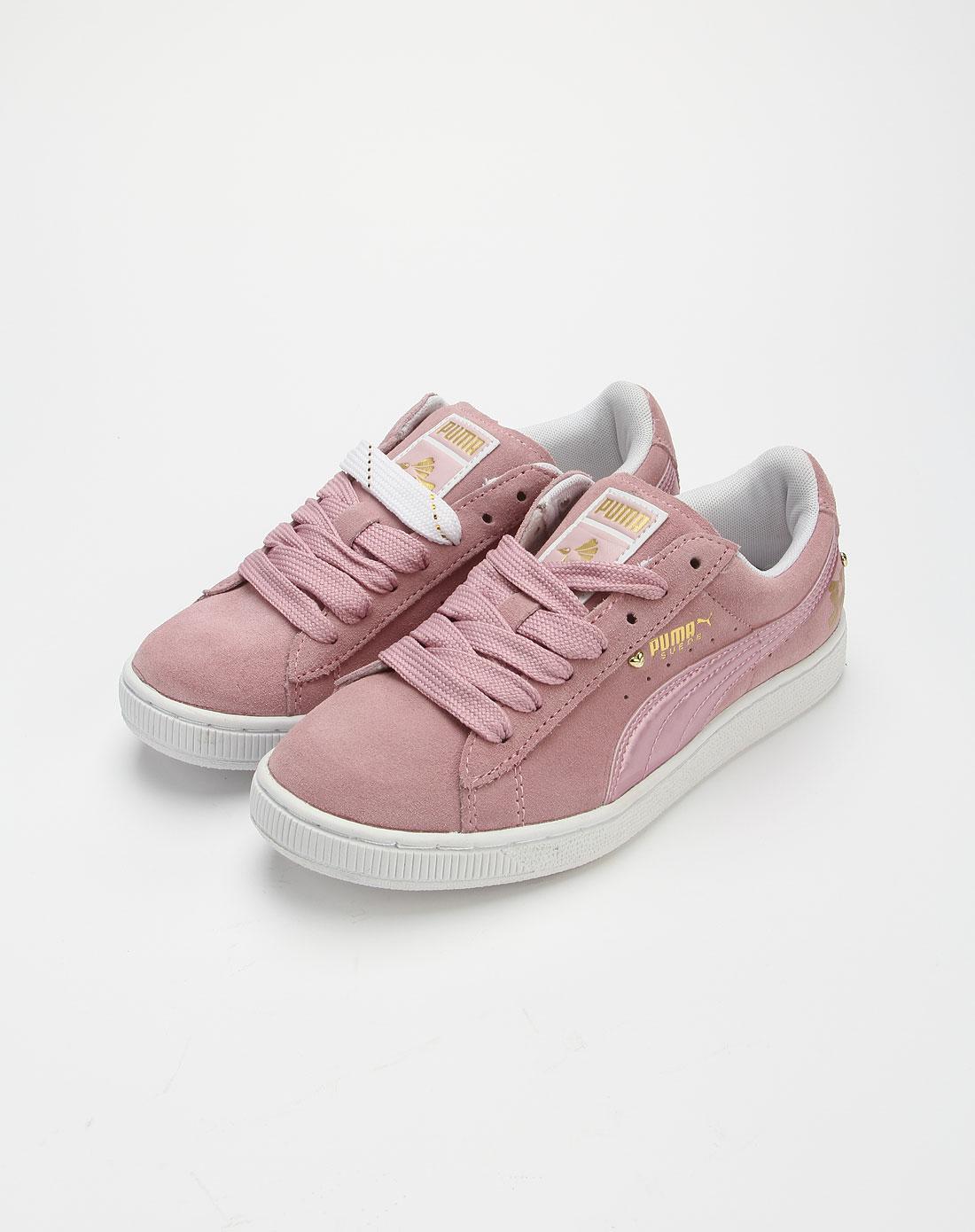 彪马puma淡粉金色时尚运动鞋35329001