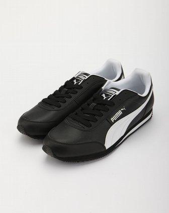 彪马puma黑白色休闲运动鞋35143112