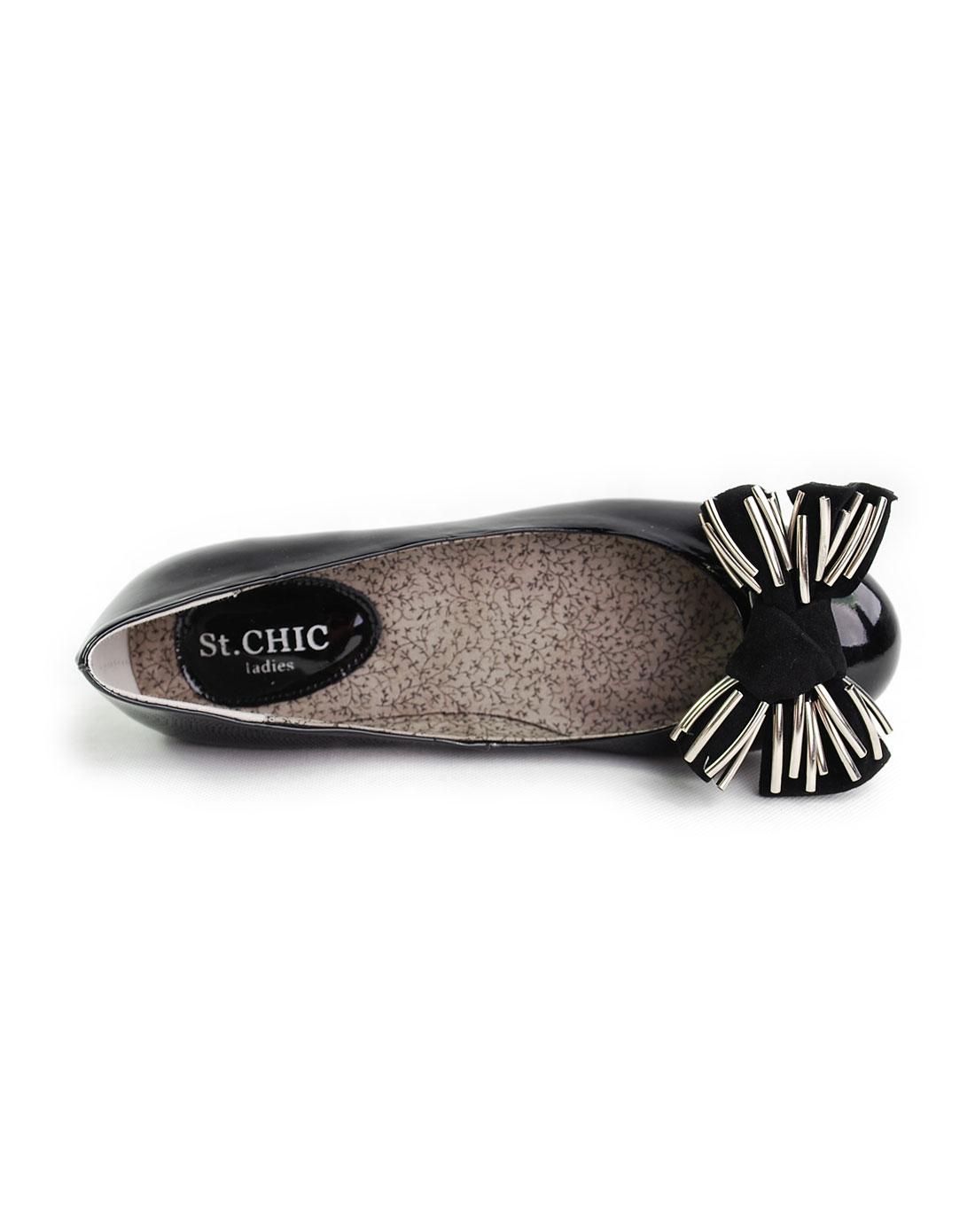 chic女款黑色单鞋p22a20909m
