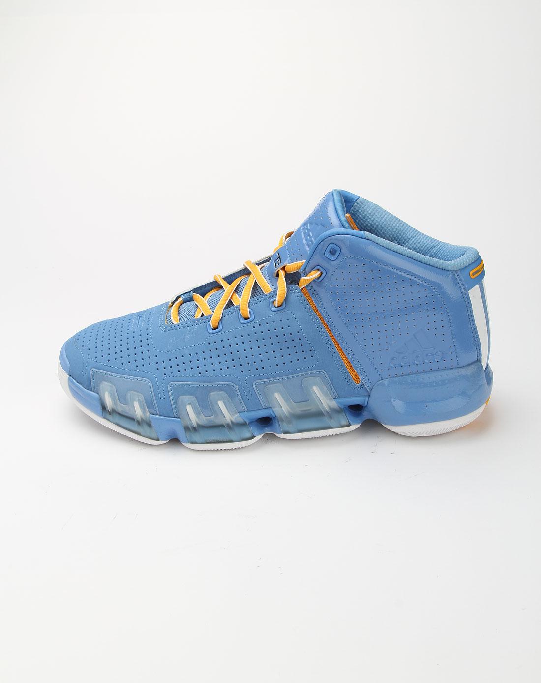 阿迪达斯adidas浅蓝色时尚篮球运动鞋g24492