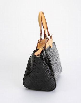 benato女款黑色时尚个性手提包b0180302b